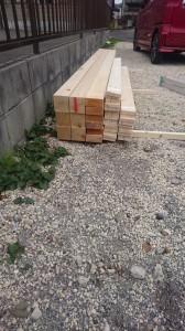 木材はこれだけです
